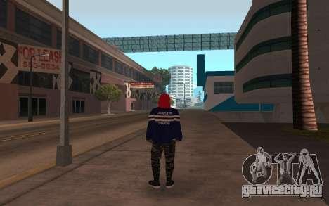 Новый бомж v3 для GTA San Andreas второй скриншот