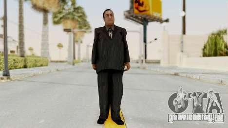Taher Shah Black Suit для GTA San Andreas второй скриншот