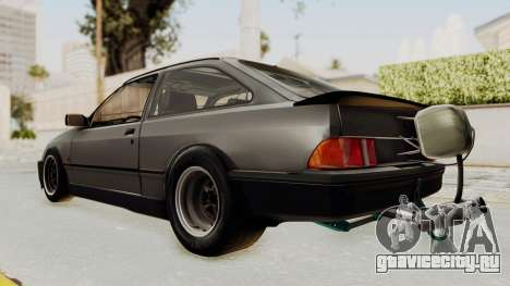 Ford Sierra Mk1 Drag Version для GTA San Andreas вид сзади слева