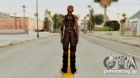 Mass Effect 2 Jack для GTA San Andreas третий скриншот
