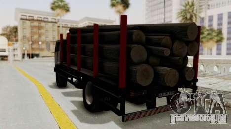 FAP Kamion za Prevoz Trupaca для GTA San Andreas вид сзади слева