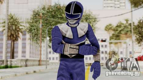 Power Rangers Time Force - Blue для GTA San Andreas
