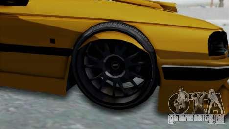 Peugeot Pars Full Sport для GTA San Andreas вид сзади