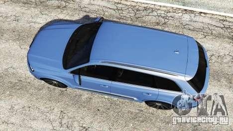 Audi Q7 2015 [rims1] для GTA 5 вид сзади