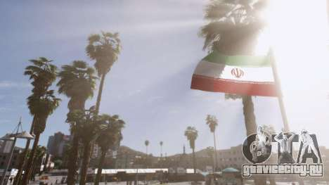 Iranian Flag для GTA 5 второй скриншот