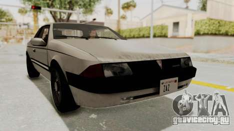 Imponte Bravura V6 Sport 1990 для GTA San Andreas