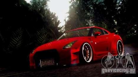 Cry ENB V4.0 SAMP NVIDIA для GTA San Andreas четвёртый скриншот