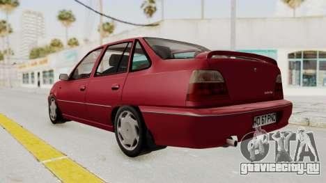 Daewoo Cielo 1.5 GLS 1998 для GTA San Andreas вид справа