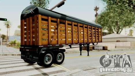 Trailer de Estacas для GTA San Andreas вид слева