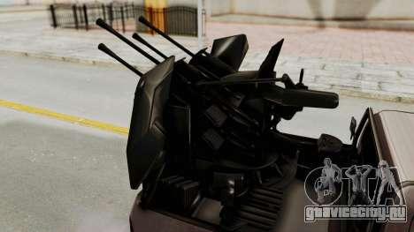 Toyota Hilux 2014 Army Libyan для GTA San Andreas вид изнутри