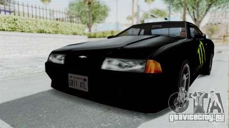 Monster Elegy для GTA San Andreas вид сзади слева