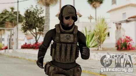 Phantomers Linda Sashantti Soldier для GTA San Andreas