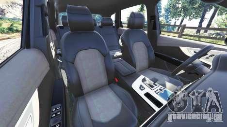 Audi Q7 2015 [rims1] для GTA 5 вид справа