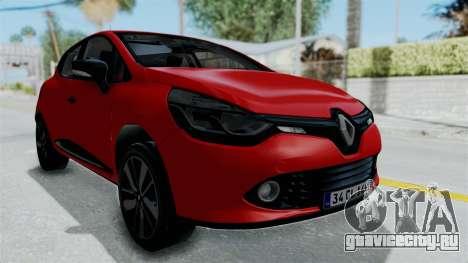 Renault Clio 4 HQLM для GTA San Andreas