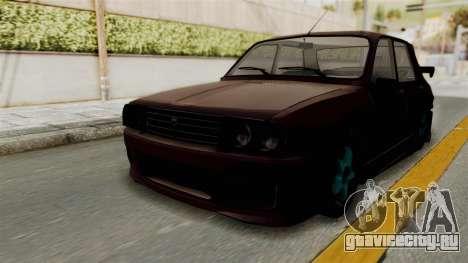 Dacia 1310 TX Tuning для GTA San Andreas вид сзади слева