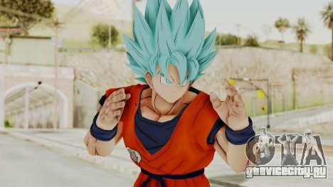 Dragon Ball Xenoverse Goku SSGGSS для GTA San Andreas
