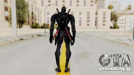 Black Deadpool для GTA San Andreas третий скриншот