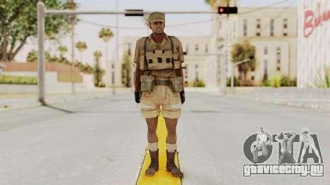 MGSV Phantom Pain CFA Combat Vest 1 v1 для GTA San Andreas второй скриншот