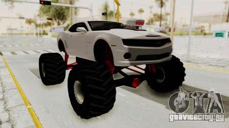 Chevrolet Camaro SS 2010 Monster Truck для GTA San Andreas