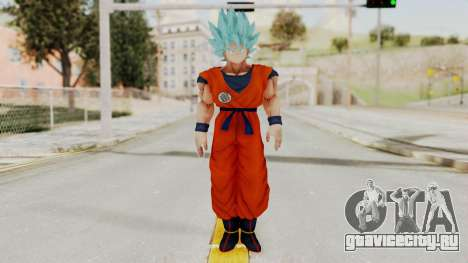 Dragon Ball Xenoverse Goku SSGGSS для GTA San Andreas второй скриншот