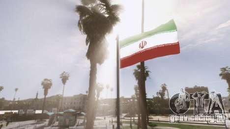 Iranian Flag для GTA 5 четвертый скриншот