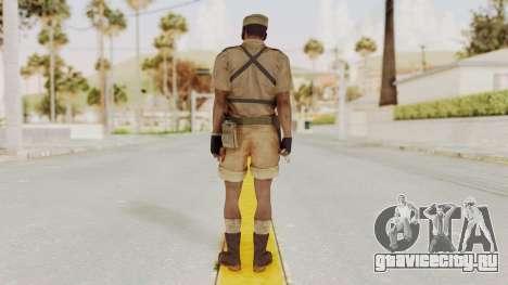 MGSV Phantom Pain CFA Combat Vest 1 v1 для GTA San Andreas третий скриншот