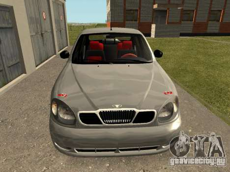 Daewoo Lanos (Sens) 2004 v1.0 by Greedy для GTA San Andreas вид справа