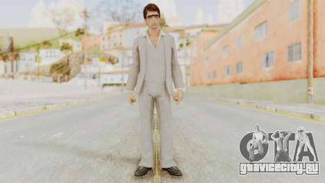 Scarface Tony Montana Suit v1 with Glasses для GTA San Andreas второй скриншот