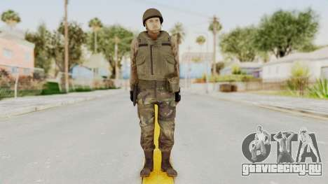 MGSV Phantom Pain RC Soldier Vest v1 для GTA San Andreas второй скриншот