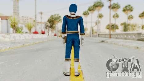 Power Ranger Zeo - Blue для GTA San Andreas третий скриншот