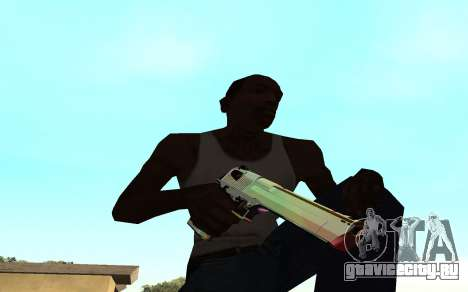 Desert eagle gradient для GTA San Andreas