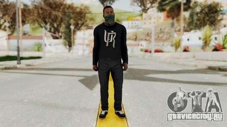 GTA 5 Franklin v1 для GTA San Andreas второй скриншот