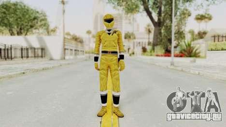 Alien Rangers - Yellow для GTA San Andreas второй скриншот