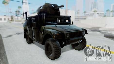Humvee M1114 Woodland для GTA San Andreas
