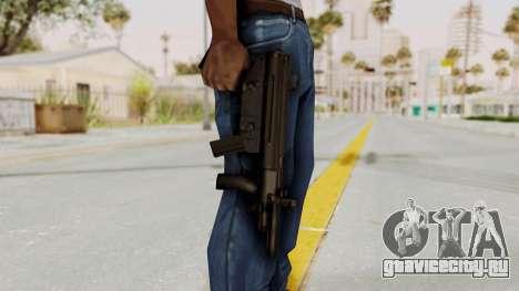Liberty City Stories SMG для GTA San Andreas третий скриншот