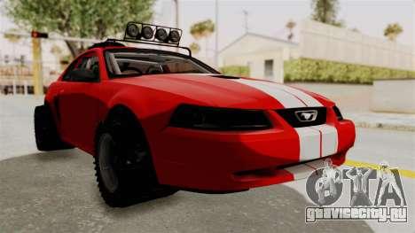 Ford Mustang 1999 Rusty Rebel для GTA San Andreas