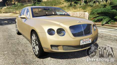 Bentley Continental Flying Spur 2010 для GTA 5