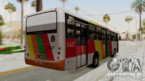 Comil Svelto Viação Trans Líder для GTA San Andreas вид справа