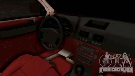 Toyota Hilux 2014 Army Libyan для GTA San Andreas вид сбоку