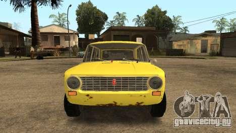 ВАЗ 2102 БК для GTA San Andreas вид справа