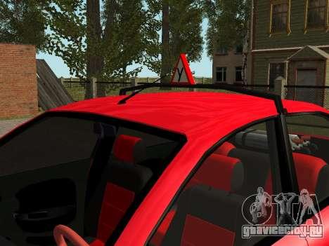 Daewoo Lanos (Sens) 2004 v1.0 by Greedy для GTA San Andreas салон