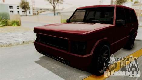 Huntley для GTA San Andreas вид справа