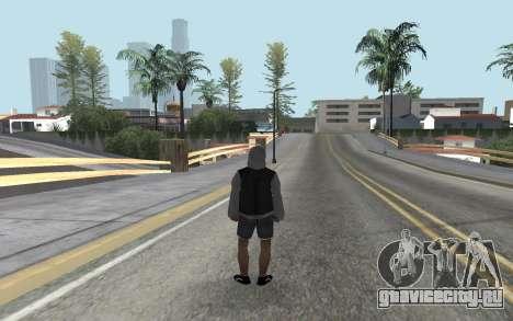 Новый бомж для GTA San Andreas второй скриншот