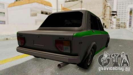 Fiat 128 De Picadas для GTA San Andreas вид сзади слева