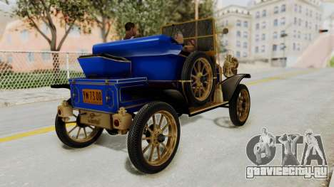 Ford T 1912 Open Roadster v2 для GTA San Andreas вид слева