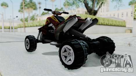 Sand Stinger from Hot Wheels v2 для GTA San Andreas вид сзади слева