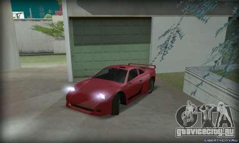 Ferrari F40 для GTA San Andreas