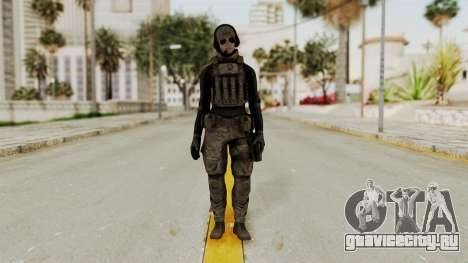 Phantomers Linda Sashantti Soldier для GTA San Andreas второй скриншот