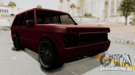 Huntley для GTA San Andreas