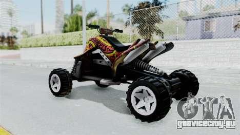Sand Stinger from Hot Wheels Worlds Best Driver для GTA San Andreas вид слева